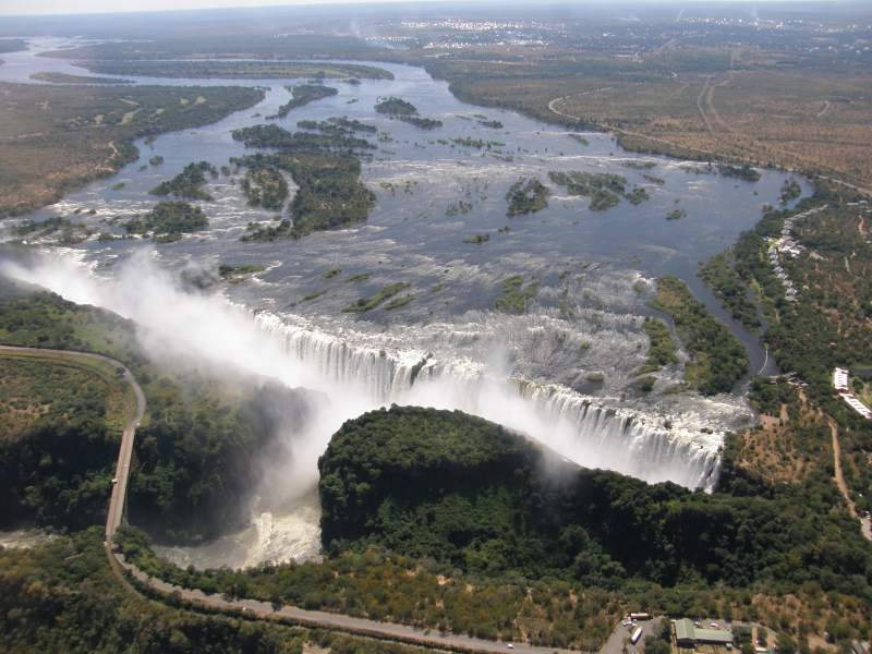 טיול דרום אפריקה מפלים