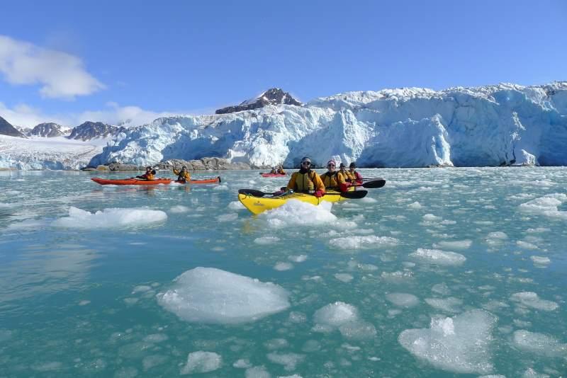 שיט אנטרקטיקה שיט בין קרחונים