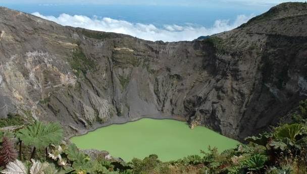 אל דאגה! זה לא הולך להתפרץ בקרוב. הר הגעש פואס בקוסטה ריקה