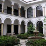 טיול לקולומביה בוגוטה חצר בית