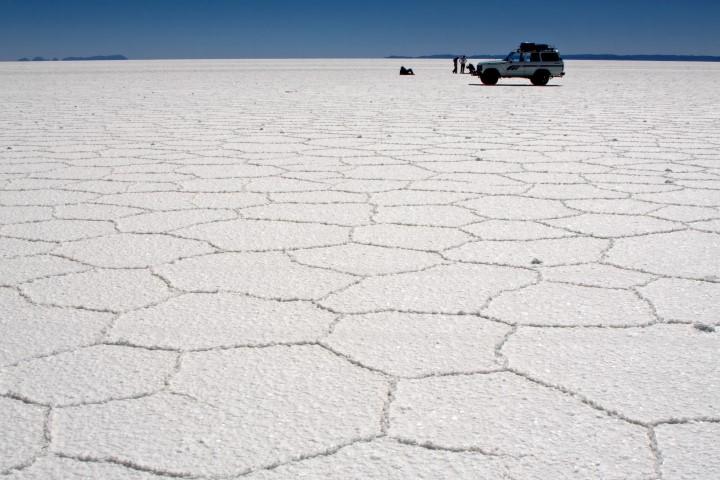 לנו יש את ים המלח ;-). מדבר המלח בבוליביה
