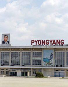 צפון קוריאה-שדה התעופה בפיונגיאנג