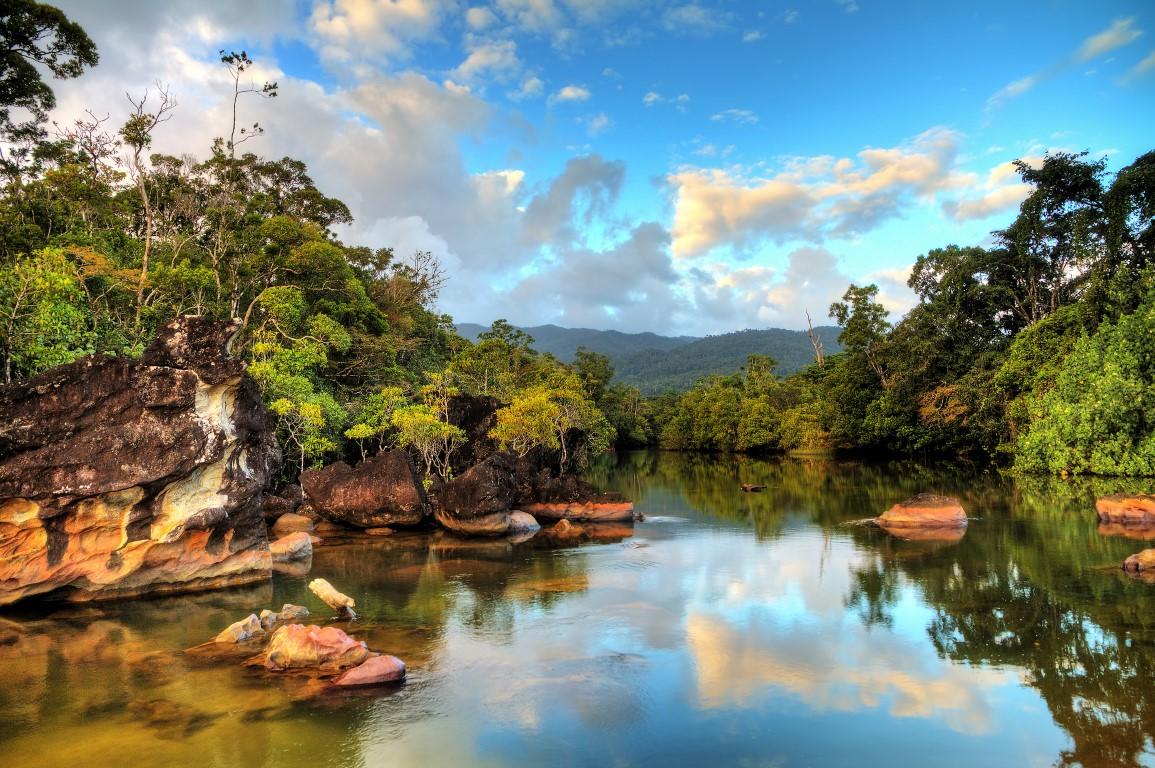 טיול מאורגן למדגסקר נהר